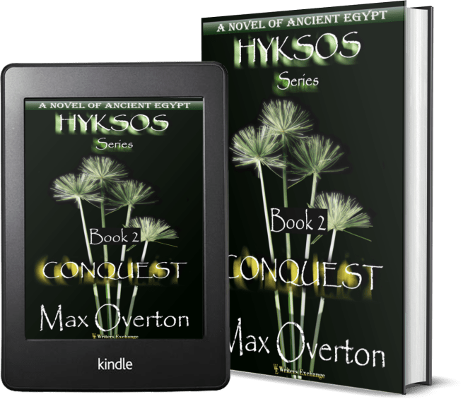 Hyksos Series, Book 2: Conquest, A Novel of Ancient Egypt 2 covers