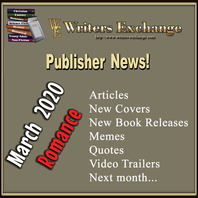 Publisher News March 2020