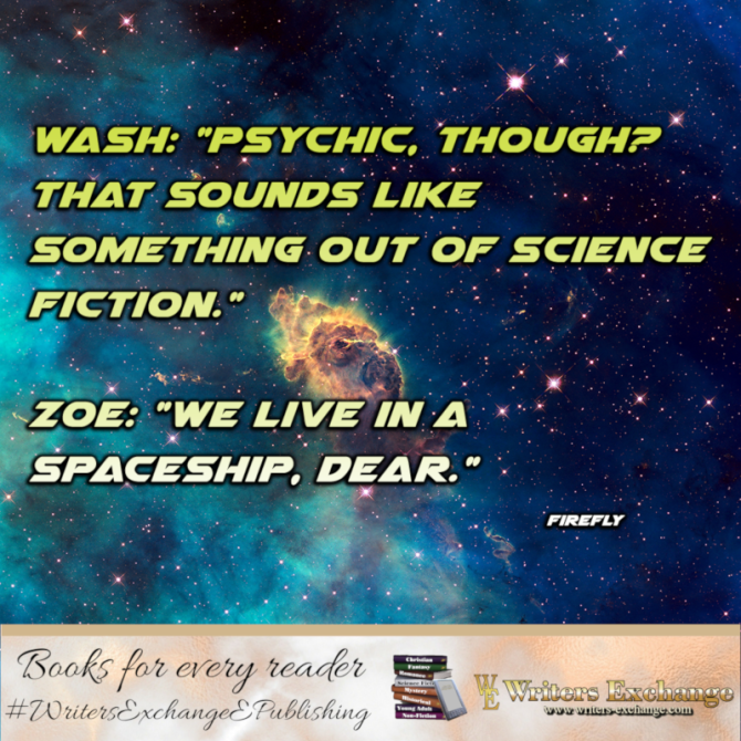 SF TV Show Quote: Firefly: Psychic though?