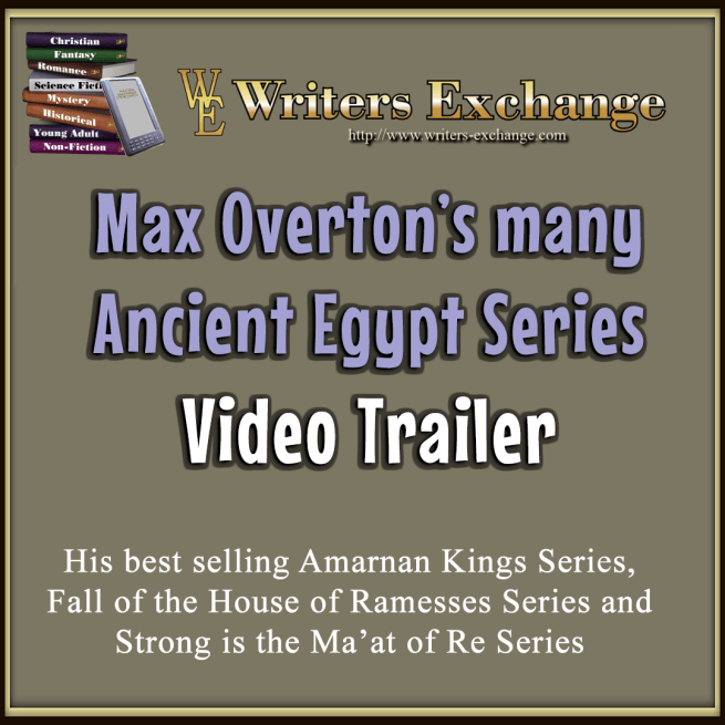 Max Overton's Ancient Egypt series video trailer
