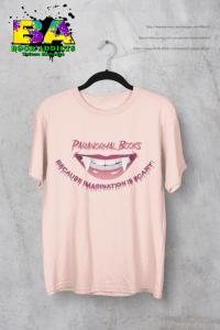 Paranormal Books T-shirt with store links