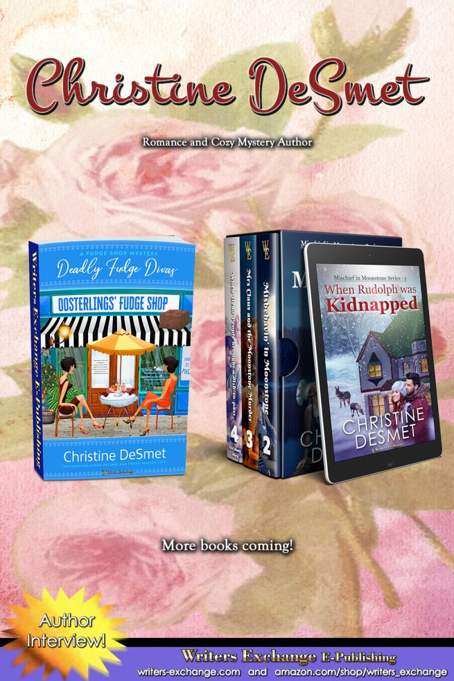 Christine DeSmet Featured Author Vertical Image