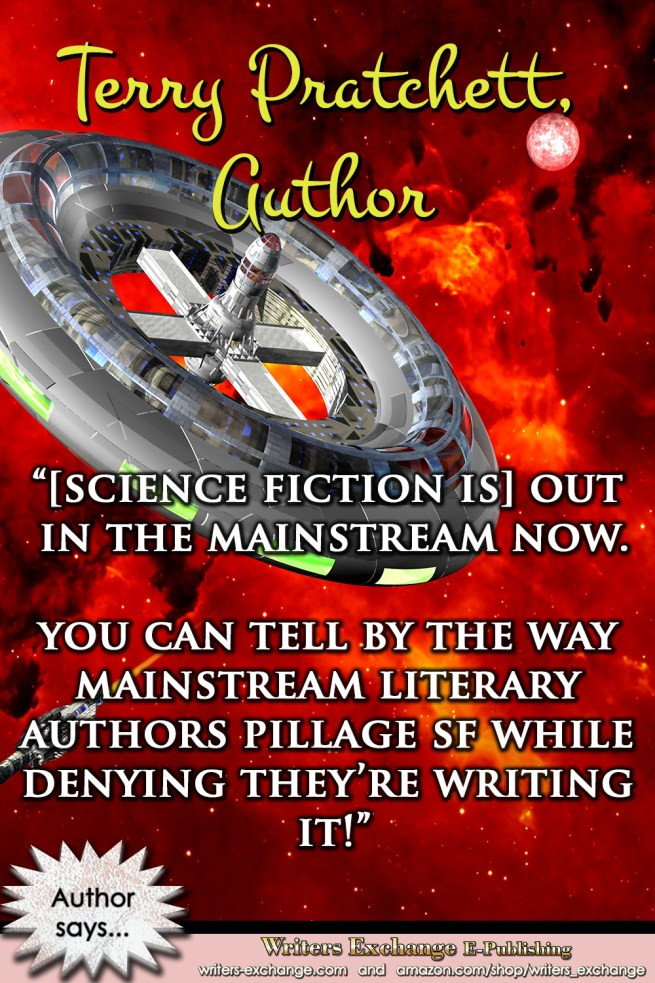 Author Quote by Terry Pratchett- SF Pillaging