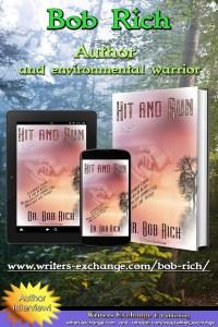 Bob Rich Author interview graphic, vertical