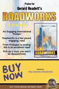 Book Reviews for Roadworks by Gerard Readett (Mystery/Techno-Thriller)