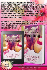 Mischief in Moonstone Series, Book 5: A Moonstone Wedding Book with Blurb