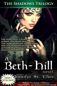 A Beth-Hill Novel: The Shadows Trilogy by Jennifer St. Clair Vertical Graphic