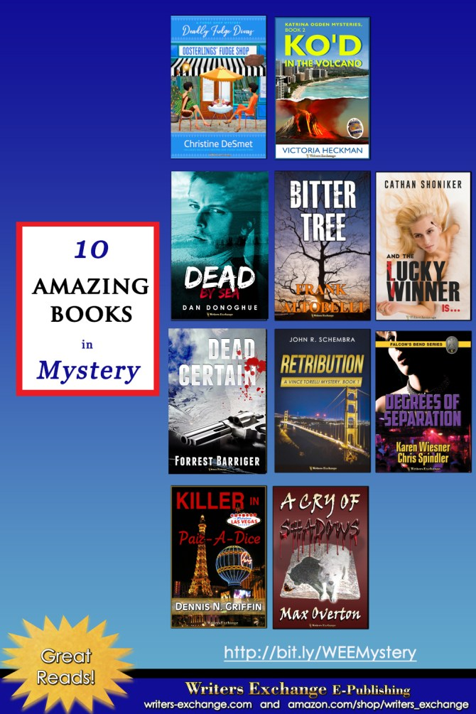10 Amazing Books in Mystery No. 1