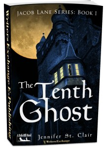 A Beth-Hill Novel: Jacob Lane Series Book 1: The Tenth Ghost 3d cover