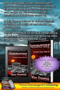 Ascension Series, Book 3: Dämmerung, A Novel of Nazi Germany book blurb