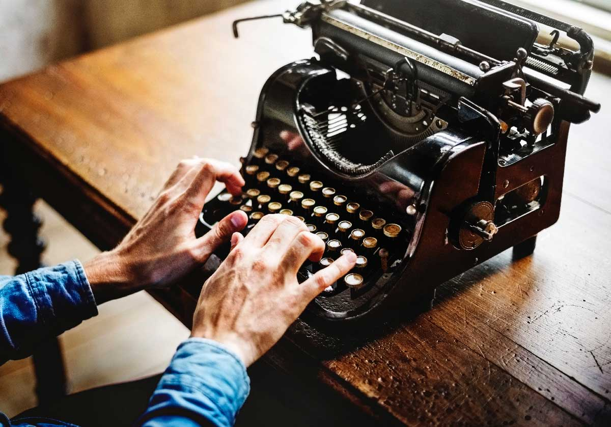 If you find yourself editing as you write, turn your monitor off or go old school and use a typewriter.