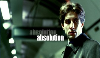 A poster from Absolution, one of Dan's short films.