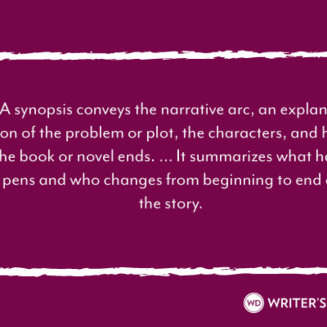 Learn How to Write a Synopsis, Quick & Easy Format Tips & Examples