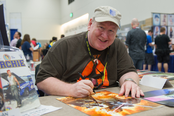 Dave Dorman at the San Diego Comic-Con 2015.