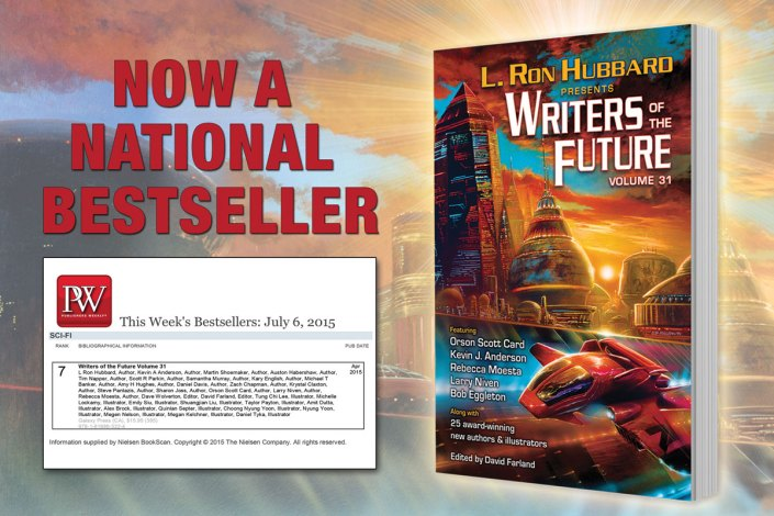 Now a National Bestseller Writers of the Future Volume 31