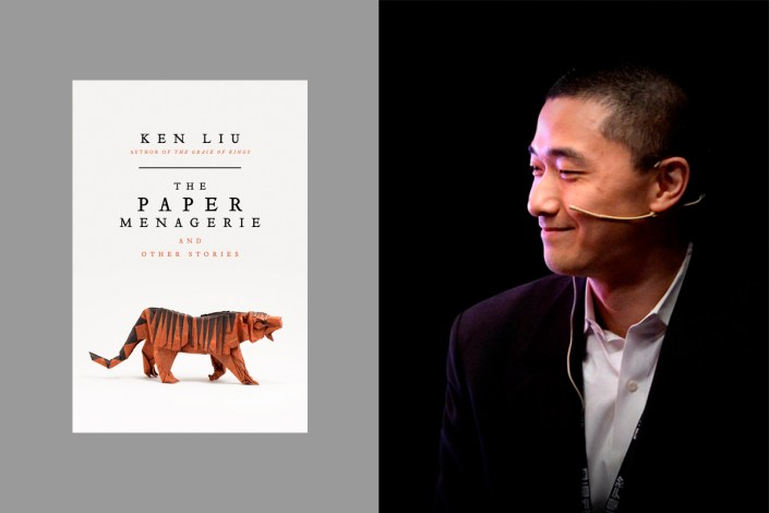 Author Ken Liu, photo by Li Yibo (李一博)