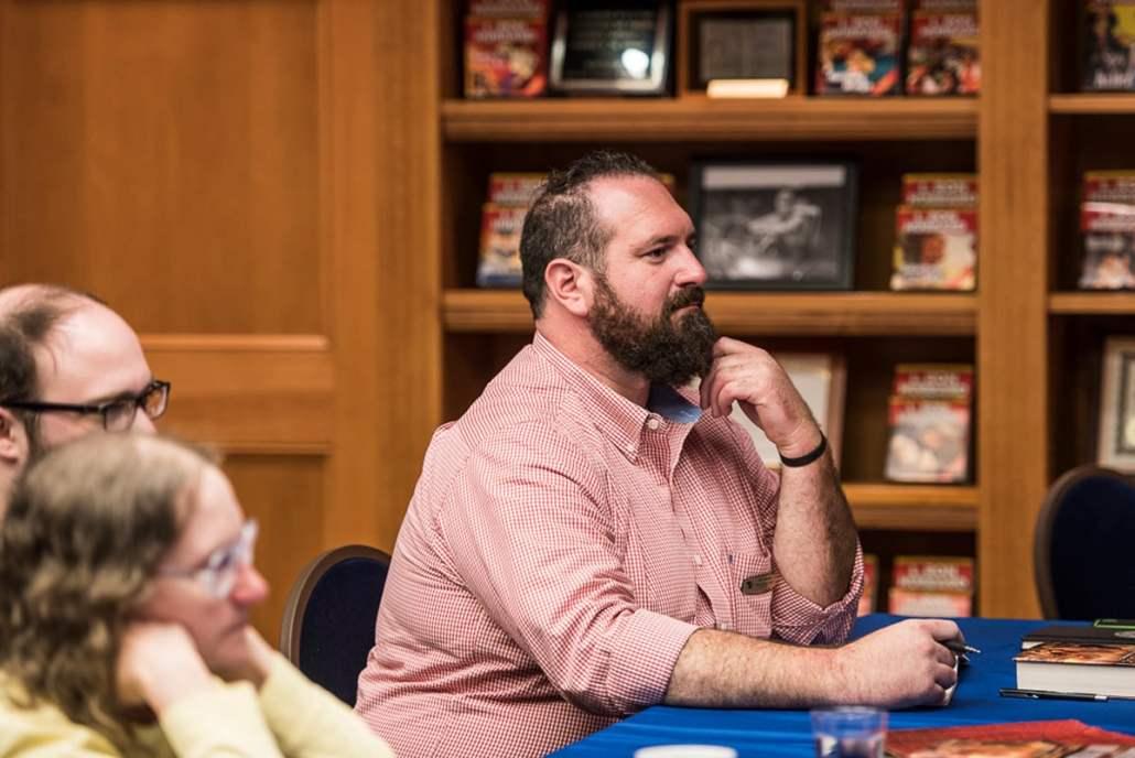 Author Jake Marley
