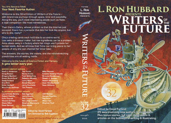 L. Ron Hubbard Presents Writers of the Future Volume 32