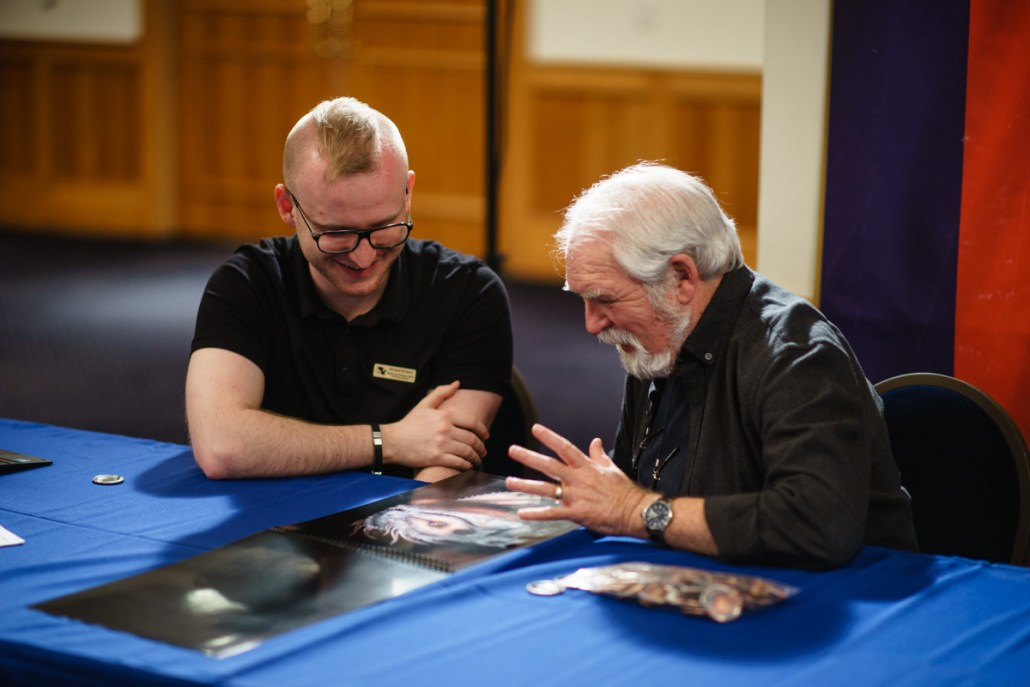 Getting first-hand advice from artist Larry Elmore