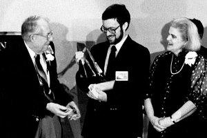 Jack Williamson, Robert Reed and Anne McCaffrey