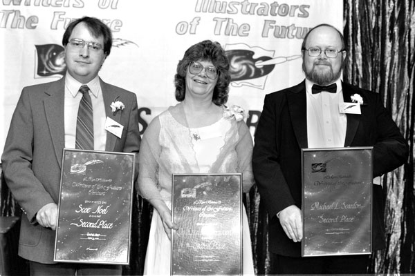 Second Place winners Scot Noel, Jo Etta Ledgerwood and Michael L. Scanlon