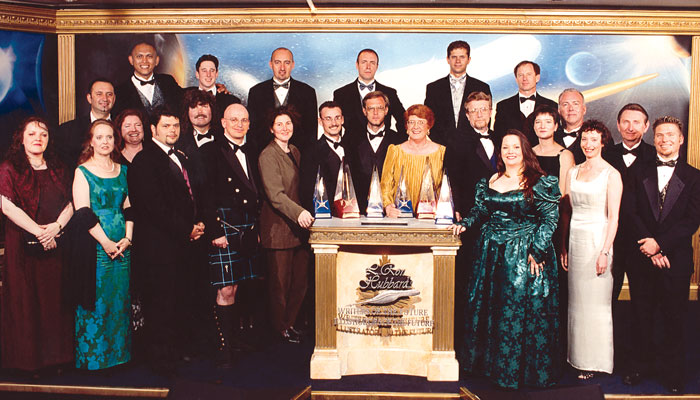 The Writers and Illustrators of the Future winners of 2001