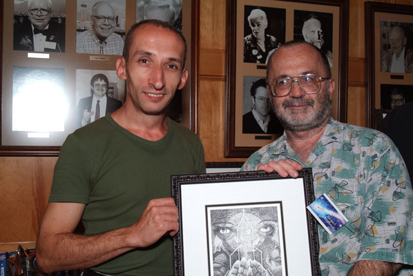 Winners Adrian Barbu and Michael Churchman