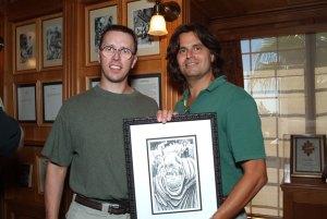 Jared Barber and Geoffrey Girard