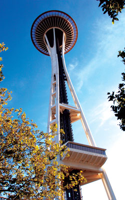 The 2005 pre-Awards banquet was held atop the Space Needle in Seattle.