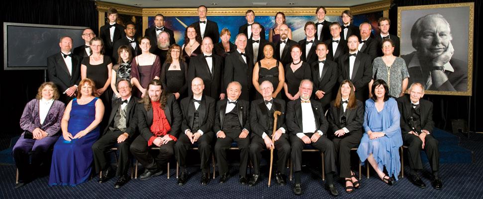 Writer & Illustrator winners 2008 with presenting judges