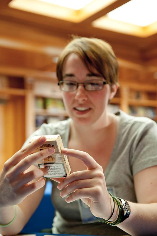 A cigarette carton . . . what could it mean?