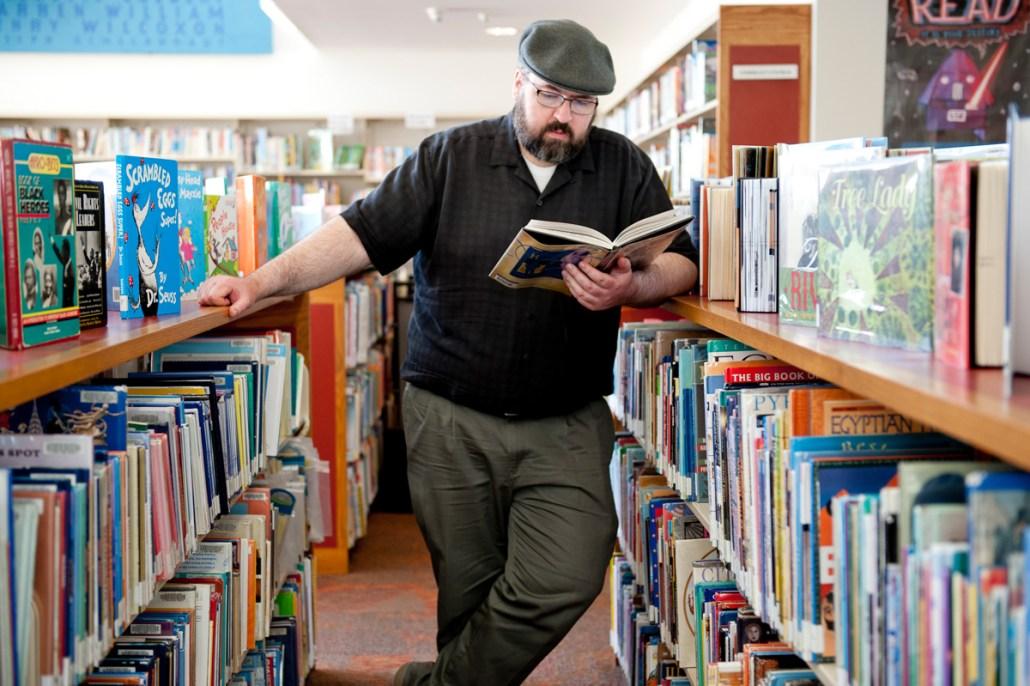 Writer winner Paul Eckheart.