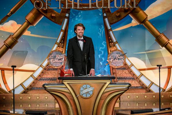 Writers of the Future Gold Pen Award Winner Matt Dovey.