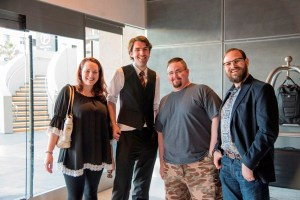 Silvia Anna Hiven, Matt Dovey, JW Alden, and Jon Lasser.