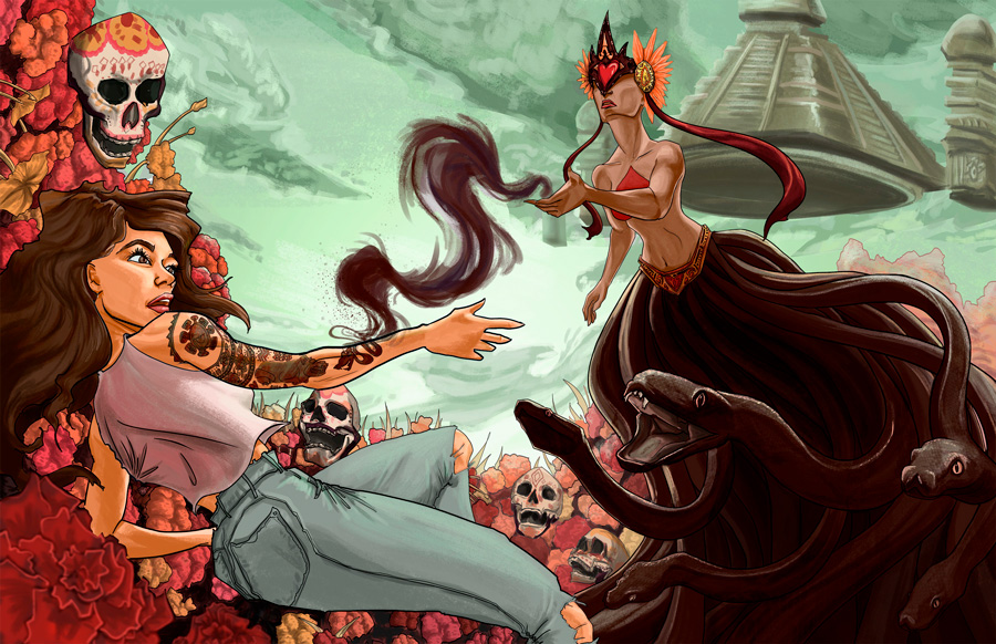 Illustration by Reyna Rochin
