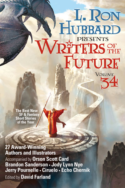 Writers of the Future Volume 34 cover