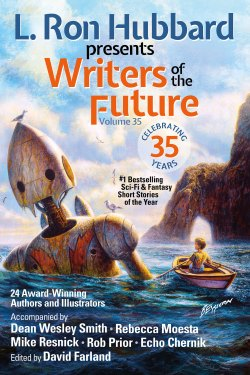 Writers of the Future Volume 35 front cover