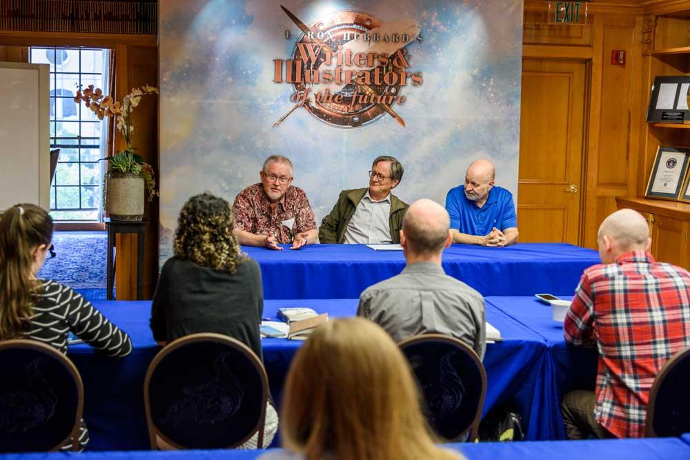 Orson Scott Card, Tim Powers and David Farland