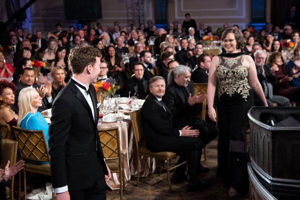 Jennifer announced as winner.