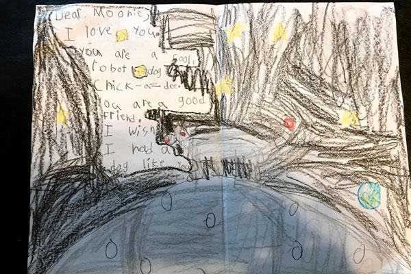 Moon Dawdler by Brittany Rainsdon's son