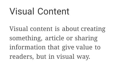Visual Content WriterSprout