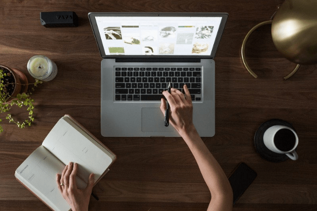 how to write a blog post doing research