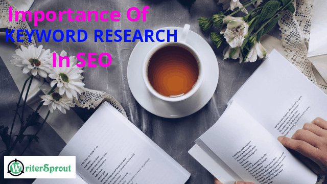 why is keyword research so important in seo