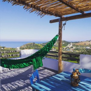 Cretan Olive Farm Stay & Retreat Sea View
