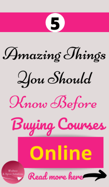 Buying courses