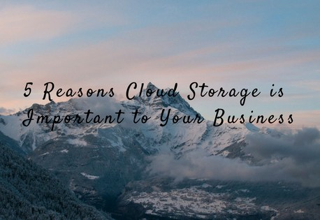 5 Reasons Cloud Storage is Important to Your Business