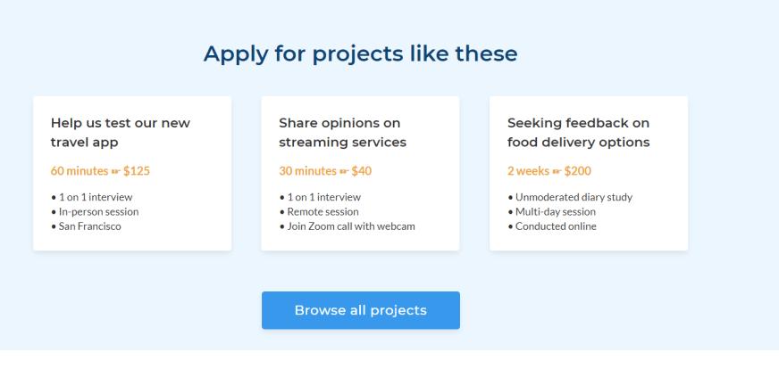Get paid $100 per survey