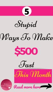 Make 500 fast