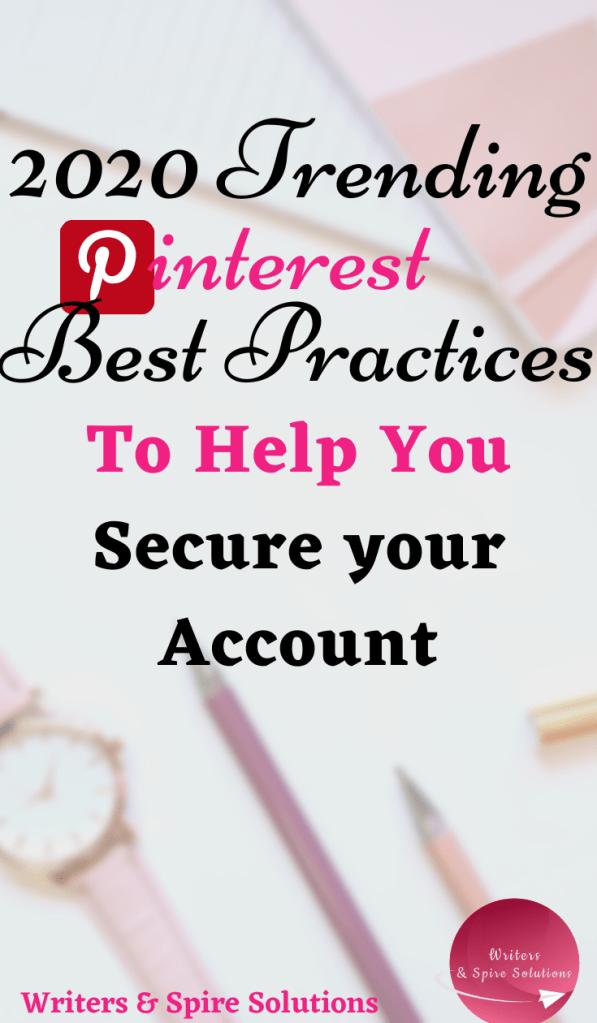 For Pinterest Best Practices