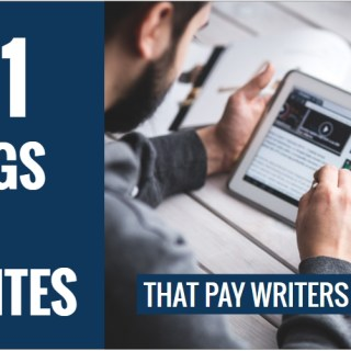 101 blogs that pay writers